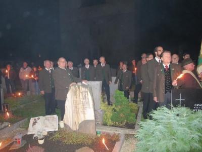 10. Oktober Talschaftsfeier 2015 beim Kriegerdenkmal in Gurk